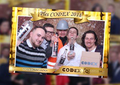 Ples CODEX 2018 – Posledná kavapka