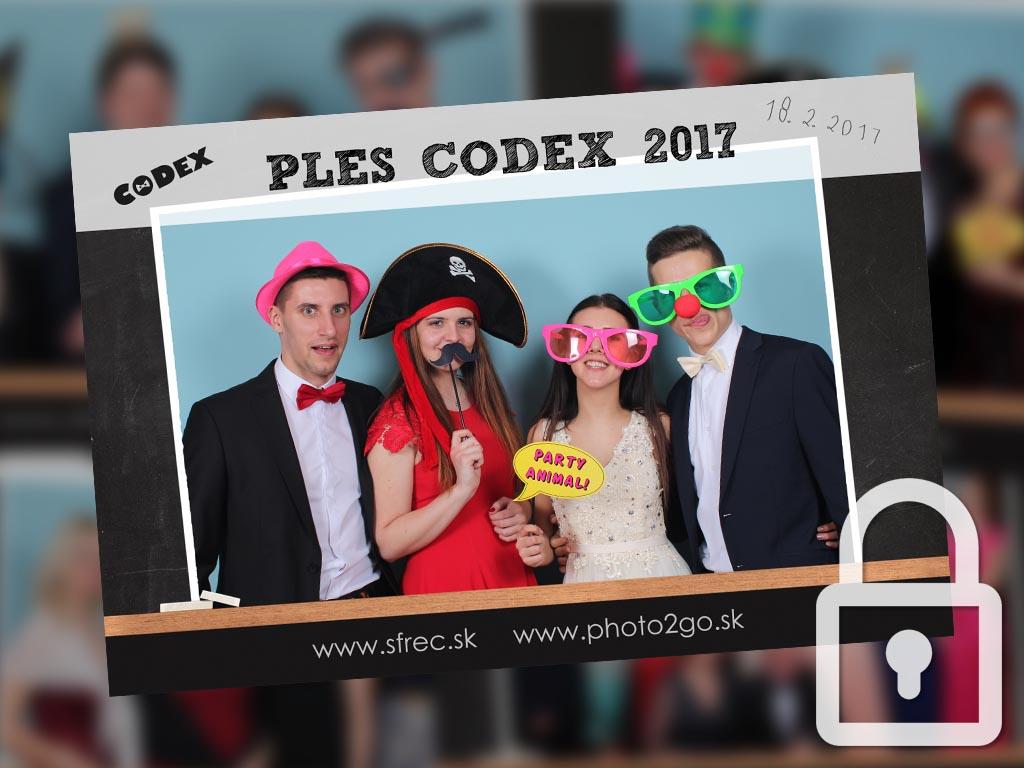 Ples CODEX 2017 – Matejovce