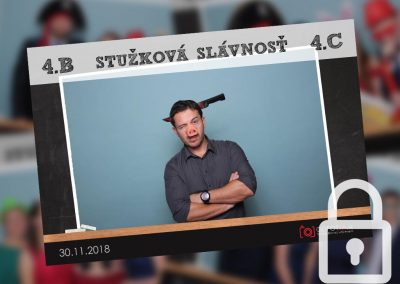 Stužková slávnosť 4.B/4.C SOŠ Svit