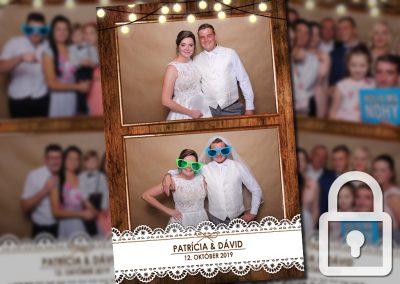 Svadba – Patrícia a Dávid