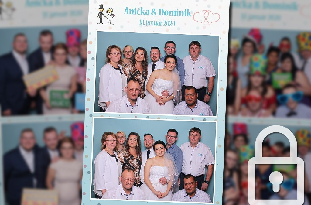 Svadba – Anička a Dominik