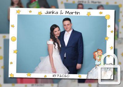 Svadba – Janka a Martin