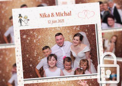 Svadba – Nika a Michal