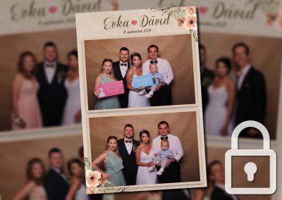 Svadba – Evka a Dávid